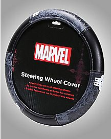 Punisher Steering Wheel Cover- Marvel Comics
