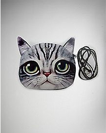 Cat Bag - Grey and White