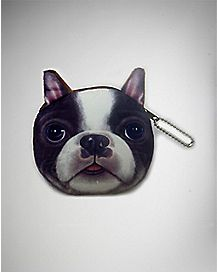 Dog Purse - Black and White