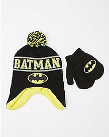 Batman Baby Hat and Mittens Set - DC Comics