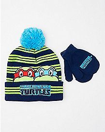 Baby Hat and Mittens Set - TMNT