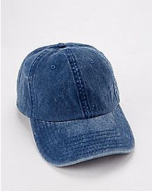 Navy Pigment Dyed Dad Hat