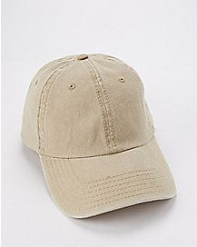 Khaki Pigment Dyed Dad Hat