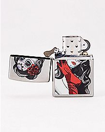 Woman Sugar Skull Lighter