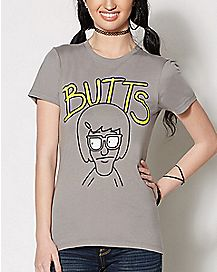 Butts Bob's Burgers T Shirt