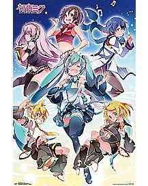 Hatsune Miku Group Poster