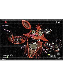 Foxy Attacks Poster - Five Nights at Freddy's
