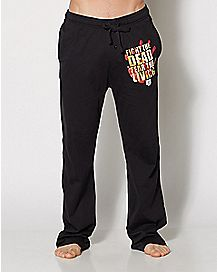 Fight The Dead Walking Dead Lounge Pants