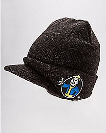 Vault Boy Fallout Marled Beanie Hat