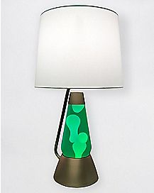Green and White Bright Source Lava Lamp - 18.5 Inch