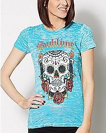 Skull Sublime T Shirt