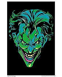 Joker Neon Blacklight Poster - DC Comics