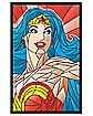 Wonder Woman Neon Blacklight Poster - DC Comics