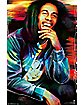 Bob Marley Etched Poster