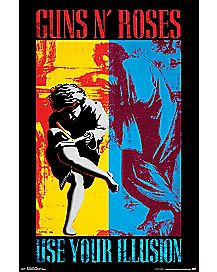 Guns N' Roses Illusion Poster