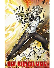 Genos One Punch Man Poster