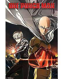 One Punch Man Key Art Poster
