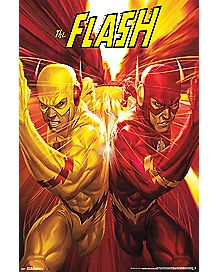Race The Flash Poster - DC Comics