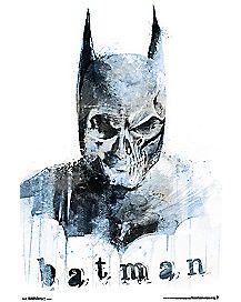 Skull Batman Poster - DC Comics