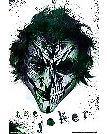 The Joker Skull Poster - DC Comics