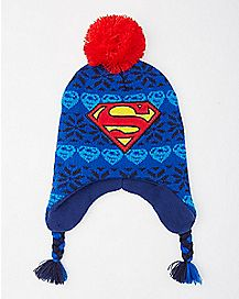 Superman Laplander Baby Hat - DC Comics