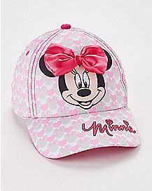 Bow Minnie Mouse Baby Baseball Cap