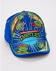 Baby Baseball Snapback Hat -TMNT