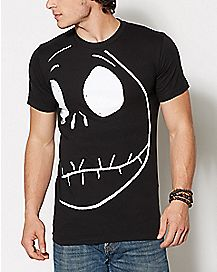 Jack Skellington The Nightmare Before Christmas T Shirt