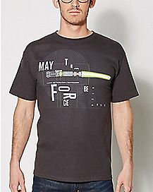 May The Force Be With You T Shirt - Star Wars