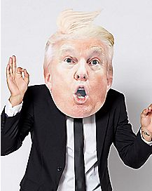 Surprised Trump Mask