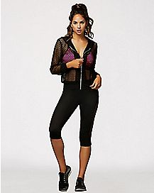 Netted Active Hoodie