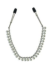 Pearl Chain Nipple Clamps
