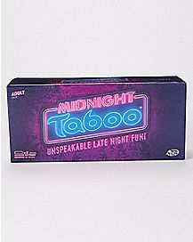 Midnight Taboo Card Game
