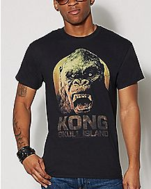 King Kong T Shirt - King Kong Skull Island