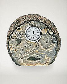 Natural Agate Clock