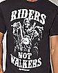 Riders Not Walkers The Walking Dead T Shirt