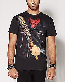 Negan The Walking Dead Costume T Shirt
