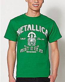 Whiskey In The Jar Metallica T Shirt