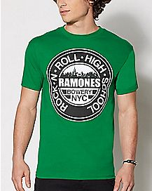 Rock and Roll High School Ramones T Shirt