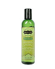 Massage Oil Coconut Pineapple  8 oz. - Kama Sutra