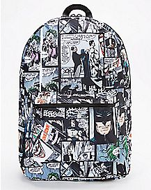 Comic Batman and Joker Backpack - DC Comics