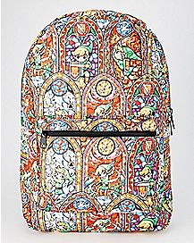 Stained Glass Link Backpack - Legend of Zelda