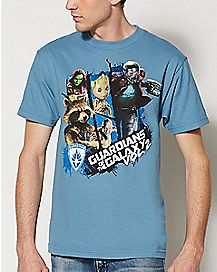 Guardians of the Galaxy Volume 2 T Shirt - Marvel Comics