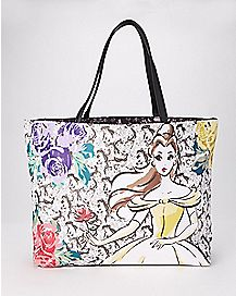 Belle Tote Bag - Beauty and the Beast
