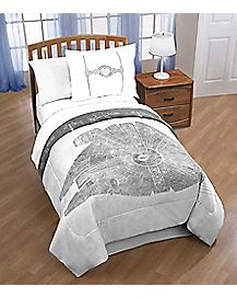 Twin/Full Reversible Millennium Falcon Comforter - Star Wars