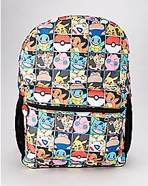 Checkered Backpack - Pokemon