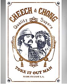 Toke It Out Man Cheech and Chong Poster