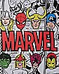 Print Scarf - Marvel Comics