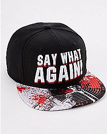 Say What Again Pulp Fiction Snapback Hat