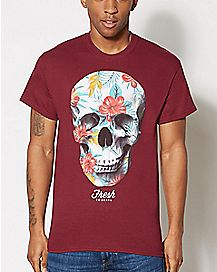 Fresh to Death Skull T Shirt